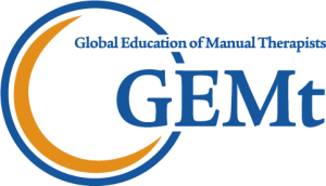 Global Education of Manual Therapists Logo